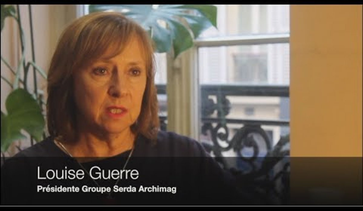 Embedded thumbnail for Technolex 2017 | Interview Louise GUERRE | Présidente du Groupe Serda Archimag